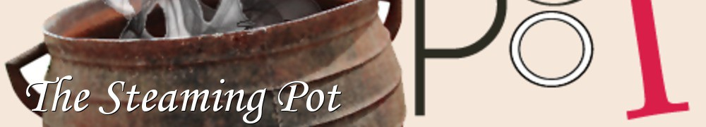 Very Good Recipes - The Steaming Pot
