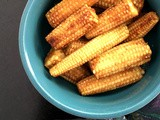 Butter Soy Baby Corn – Three Ingredients Only