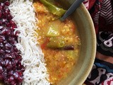 Chow Chow Dal: Chayote Squash Dal