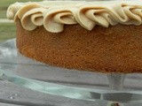 57/99: Spice Cake with Peanut Buttercream