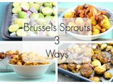 Brussels Sprouts 3 Ways: Roasted Balsamic Brussels Sprouts | Vegan