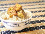 Caribbean Tofu with Coconut Quinoa | Vegan