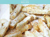 Oil-free Celeriac Fries | Vegan, Gluten-free