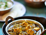 Chettinad Paneer curry