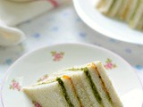 Ribbon Tea sandwiches- Easy and fuss free Party recipes