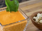 2-Ingredient Creamy Red Pepper Soup Recipe