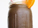 Chocolate Orange Smoothie {#Recipe + #Video}