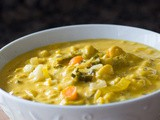 Dr. Fuhrman's Golden Austrian Cauliflower Cream Soup Recipe: Nutritarian and Vegan (+ video)
