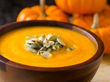 Easy Roasted Pumpkin Soup Recipe (4 Ingredients!) | Nutritarian | Vegan | video