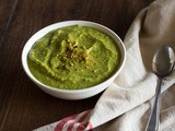 Pea, Broccoli and Almond Soup Recipe