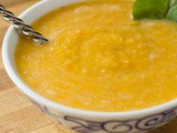 Red Lentil Carrot Soup Recipe (video)