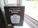 Andrew James Ice-cream Maker - Strawberry & Vimto