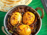 Nadan Mutta Roast – Kerala Egg Roast + Video
