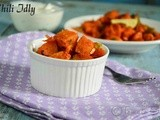 Chili Idli Recipe| Leftover Ideas