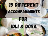 Easy Side Dish For Idli Dosa - South Indian side dishes