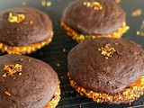 Chocolate Whoopie Pies with Maple Cream