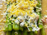 French Tarragon, Asparagus with Grated Eggs