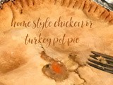 Home Style Chicken or Turkey Pot Pies