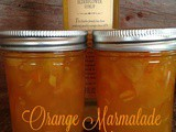 Orange Elderflower Marmalade