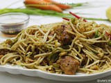 Chicken with Egg Fried Noodles