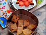 Chapathi roll,Carrot and Badam-Kid's Lunch/Snack box ideas