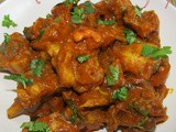 Andhra style chicken curry i Godavari chicken fry