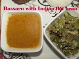 Bassaru with Indian flat beans i Chapparada avarekai bassaru recipe