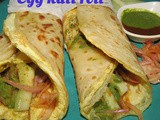 Egg Kati roll recipe