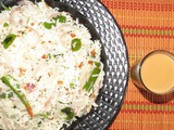 Tempered rice recipe i Oggarane anna