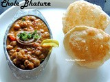Punjabi Chole Bhature Recipe