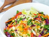 Spicy Noodle Salad with Peanut Dressing