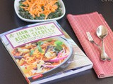 Farm To Table Asian Secrets | Book Review | Recipe – Spinach with Sesame Sauce | Giveaway