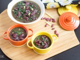 Instant Pot Betang Meh | Kidney Beans and Spinach Gravy