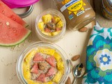 Overnight Oats with Almond Butter and Banana