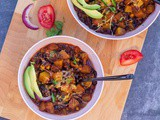 Vegetarian Zucchini Chili | Instant Pot Vegetarian Chili