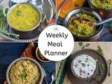 Weekly Meal Planner with One-Pot Meal Options | Indian Meal Plans