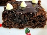 Chocolate brownie - vegan i christmas recipes