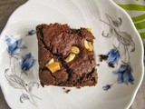 Foxtail millet chocolate cake i thinai choco cake i egg-less butter-less cake recipes