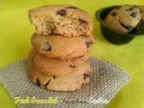 Fried gram dal chocolate chips cookies i pottukadalai chocolate biscuits i vegan cookies i christmas recipes