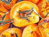 Apricot tartelettes with honey and rosemary - Ταρτούλες με βερύκοκο, μέλι και δενδρολίβανο