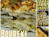 Boureki - Greek Potato & Courgette Bake