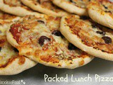 Packed Lunch Pizzas