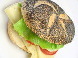 Vegetarian sandwiches and packed lunch ideas