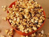 Pumpkin Spice Caramel Popcorn and Pepitas