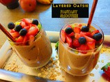 Oat-sie Fantasy smoothie - a Layered smoothie recipe