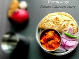 Puransingh Chicken Curry|a dhaba speciality