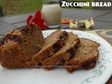 Sugar free whole wheat Zucchini Bread recipe