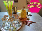 The Sunshine smoothie - a dedication