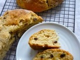 Happy St. Patrick's Day, 2013! And Irish Soda Bread with Whiskey Soaked Raisins and Whiskey Butter Syrup