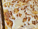 Banana Sour Cream Streusel Bars